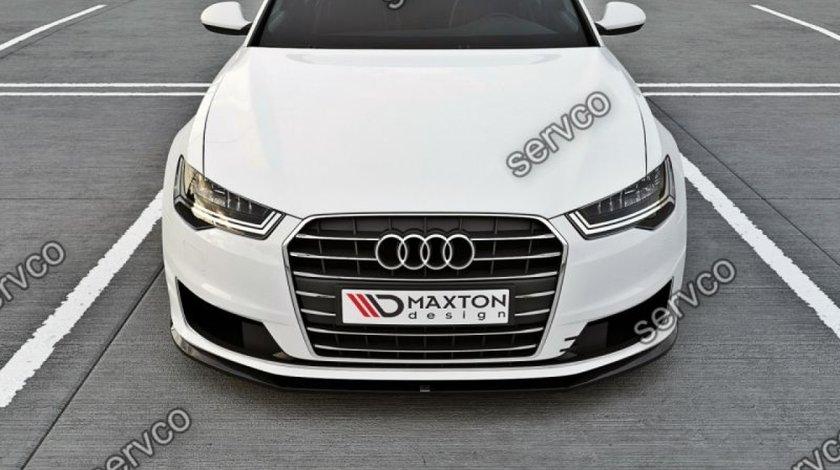 Prelungire splitter tuning bara fata Audi A6 C7 Ultra Facelift 2014-2016 v1