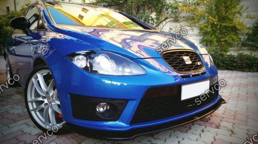 Prelungire splitter tuning bara fata Seat Leon 2 1P Mk2 Cupra Fr Facelift 2009-2012 v1