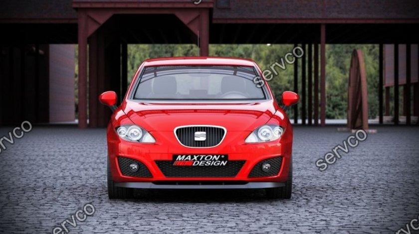 Prelungire splitter tuning bara fata Seat Leon 2 1P Mk2 FL 2009-2012 v3