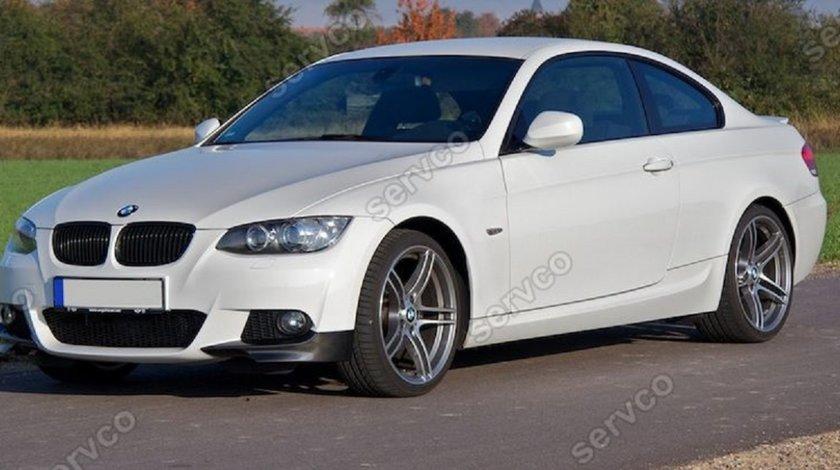 Prelungire splittere flapsuri lip bara fata BMW E92 E93 pt bara pachet M tech 2006-2012 v2