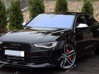 Prelungire spoiler bara fata Audi A6 4G C7 ABT Sline S6 Rs6