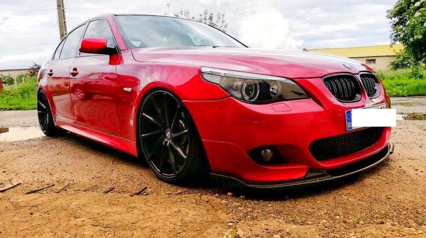 Prelungire spoiler bara fata BMW E60 E61 Hamann Mtech 2003-2010 v4