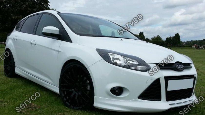 Prelungire spoiler bara fata tuning sport Ford Focus Mk3 ST RS Zetec S 2011-2014 v1