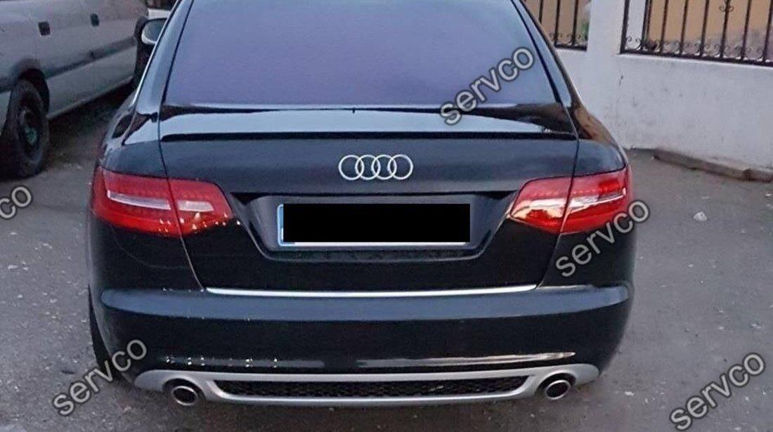 Prelungire spoiler bara spate A6 C6 4F 2009 2010 2011 Facelift ver1