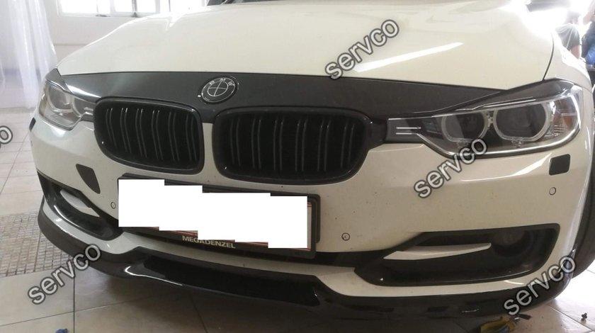Prelungire spoiler buza lip bara fata BMW F30 ACS AC SCHNITZER 2012-2016 v2