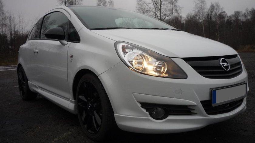 Prelungire spoiler extensie fusta bara fata Opel Corsa D OPC Line