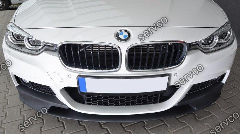 Prelungire spoiler lip bara fata BMW F30 F31 Aero Mpachet  2012-2016 v6