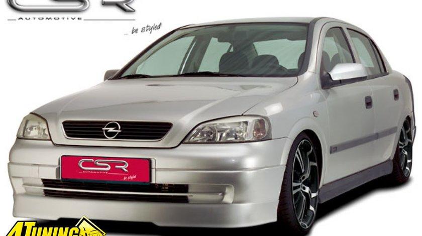 Prelungire spoiler sub bara fata Opel Astra G FA090