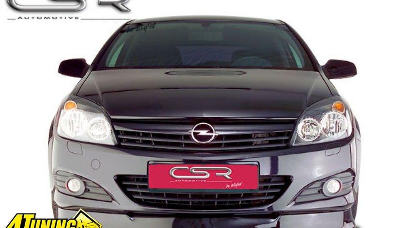 Prelungire spoiler sub bara fata Opel Astra H GTC Twin Top FA003