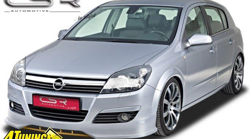 Prelungire spoiler sub bara fata Opel Astra H FA091