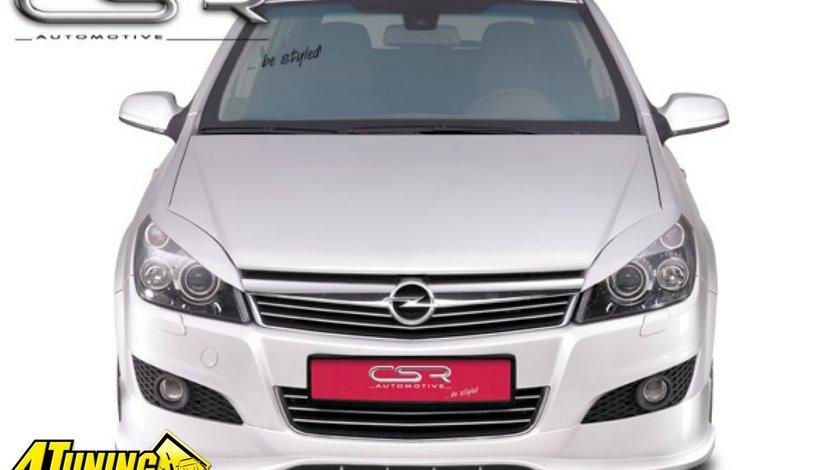 Prelungire spoiler sub bara fata Opel Astra H facelift 2007 2010 FA137