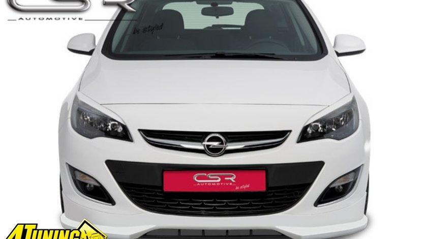 Prelungire spoiler sub bara fata Opel Astra J FA191