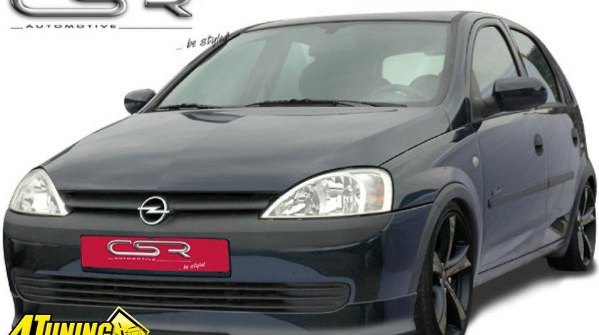 Prelungire spoiler sub bara fata Opel Corsa C facelift si non facelift Fa084 si Fa086