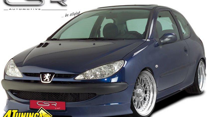 Prelungire spoiler sub bara fata Peugeot 206 facelift si nonfacelift FA056 si FA109