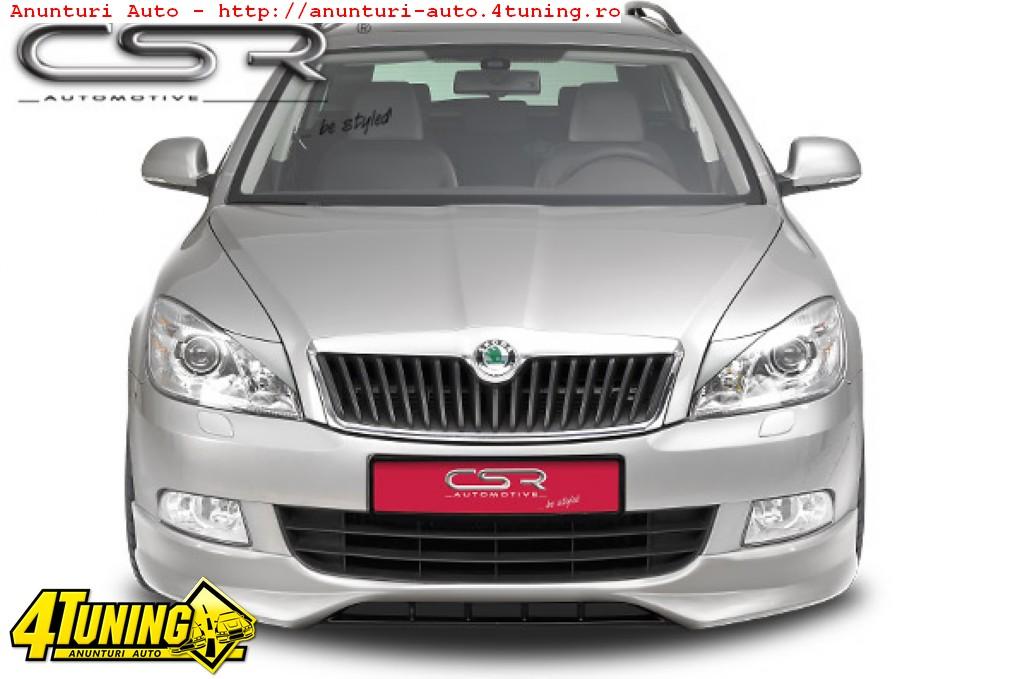 Prelungire Spoiler Sub Bara Fata Skoda Octavia II 1Z FA080 si 1z facelift FA081