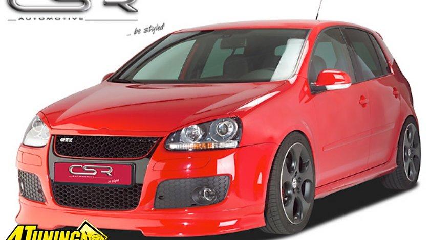 Prelungire Spoiler Sub Bara Fata VW Golf 5 Jetta Typ 1K din plastic ABS FA059