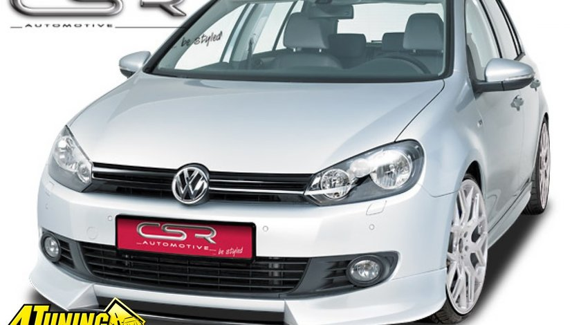 Prelungire Spoiler Sub Bara Fata VW Golf 6 R Line FA160