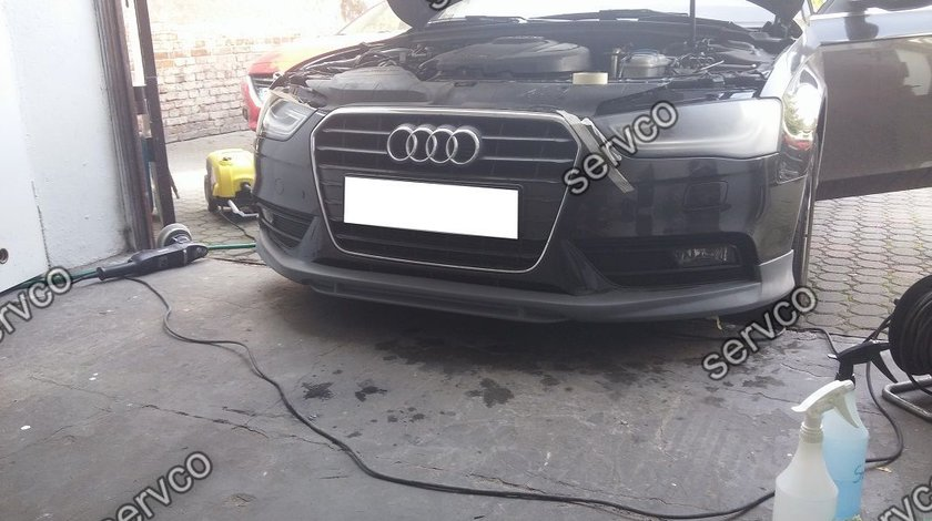 Prelungire spoiler tuning sport bara fata Audi A4 B8 Facelift 8K ABT AB look S4 RS4 S Line ver3