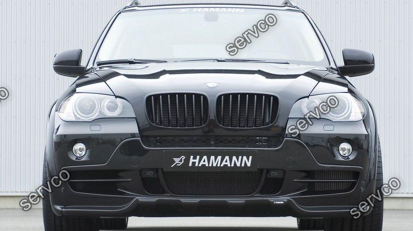 Prelungire spoiler tuning sport bara fata BMW X5 E70 Hamann 2006-2010 ver3