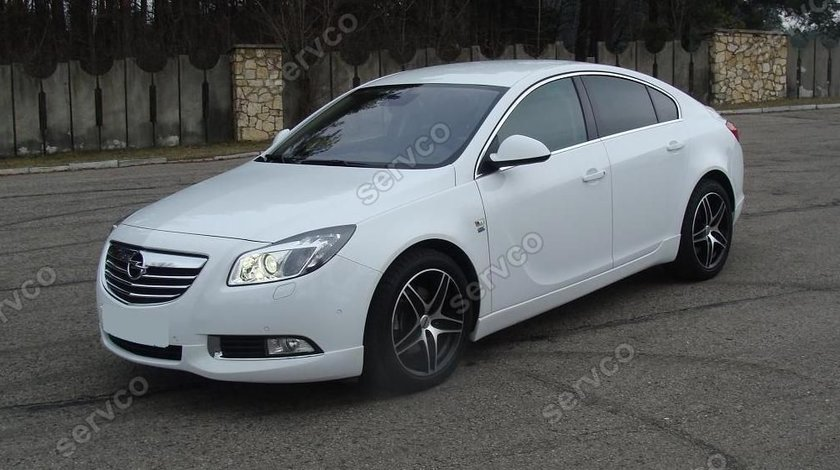 Prelungire spoiler tuning sport bara fata Opel Insignia OPC Line 2008-2013 ver1