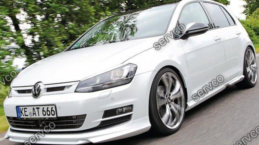 Prelungire spoiler tuning sport bara fata VW Golf 7 Mk7 ABT 2012-2016 ver2