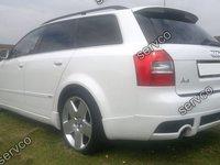 Prelungire spoiler tuning sport bara spate Audi A4 B6 8E 8H S4 Rs4 S line Sline 2001-2005 ver1