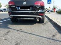 Prelungire spoiler tuning sport bara spate Vw Touareg 7P5 Rline Off Road 2011-2015 ver1