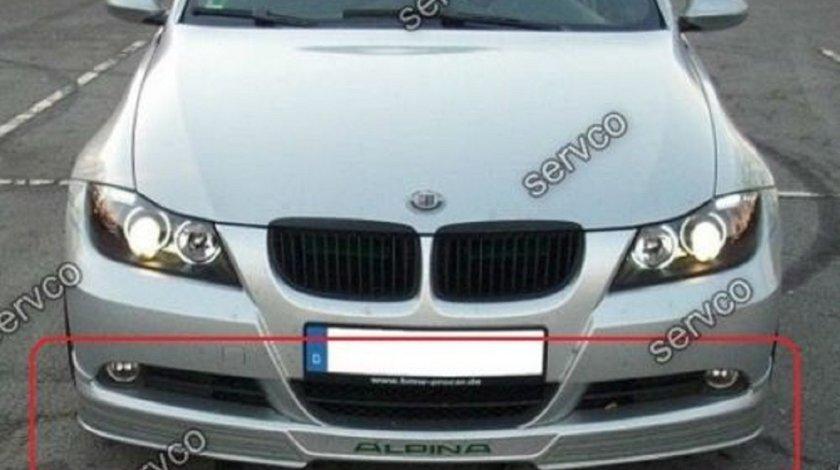 Prelungire spoiler tuning sport lip bara fata BMW E90 E91 B5 Alpina 2005-2009 v1