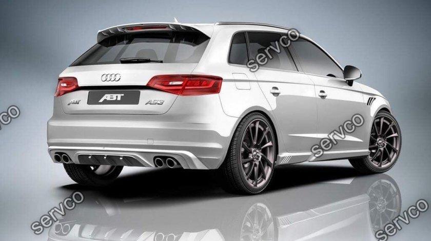 Prelungire tuning eleron spoiler sport haion Audi A3 8V Sportback S3 Rs3 ABT 2012-2019 v3