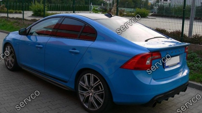 Prelungire tuning eleron sport portbagaj Volvo S60 R Design Polestar 2010-2018 v4
