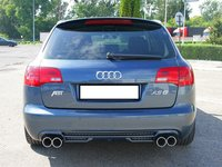 Prelungire tuning haion eleron sport Audi A6 C6 Allroad ABT Sline S6 2006-2011 v2