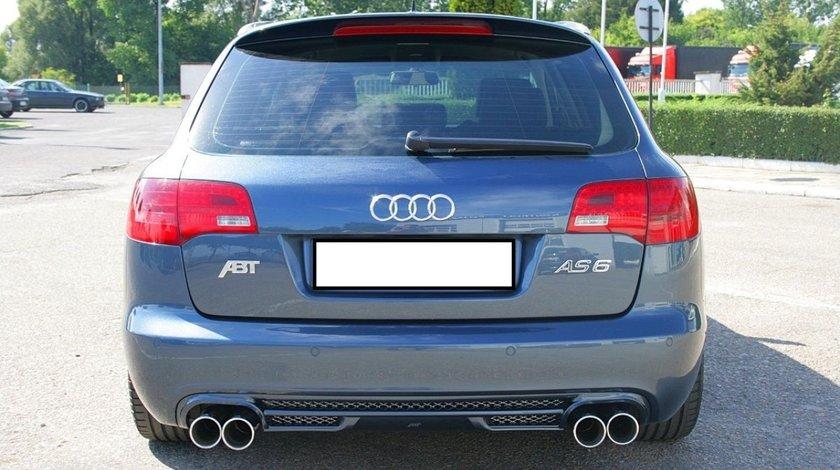 Prelungire tuning haion eleron sport Audi A6 C6 Allroad ABT Sline S6 2006-2011 v2