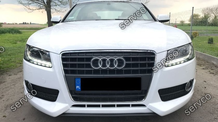 Prelungire tuning sport bara fata Audi A5 Coupe Sportback 2007-2012 pentru bara normala v5