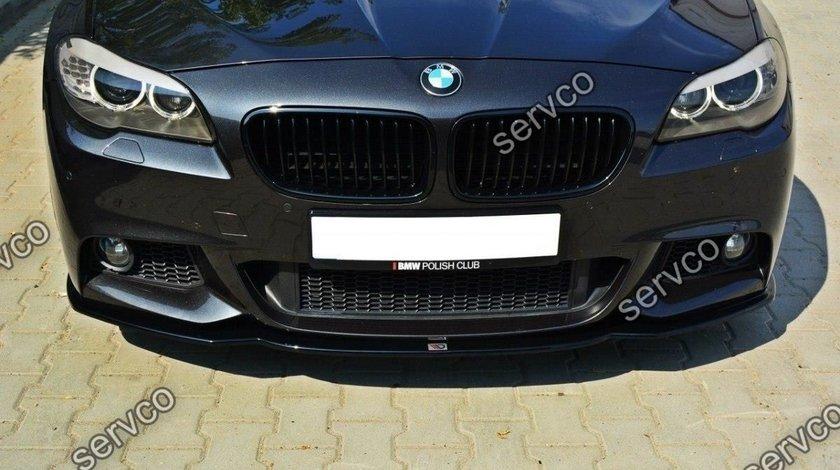 Prelungire tuning sport bara fata BMW Seria 5 F10 F11 M-Pachet 2011-2014 v3