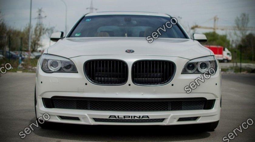 Prelungire tuning sport bara fata BMW Seria 7 F01 F02 Alpina 2008-2012 ver1