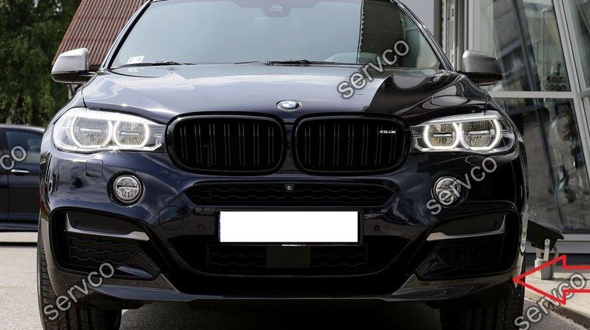 Prelungire tuning sport bara fata BMW X6 F16 M50D M Performance Aero Pack Sport v1