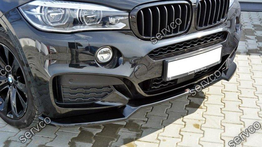 Prelungire tuning sport bara fata BMW X6 F16 Mpack 2015- v1