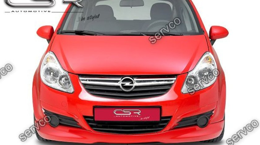 Prelungire tuning sport bara fata Opel Corsa D CSR FA164 2006-2011 v3