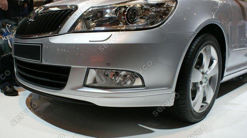 Prelungire tuning sport bara fata Skoda Octavia 2 Facelift 2008-2013 v1