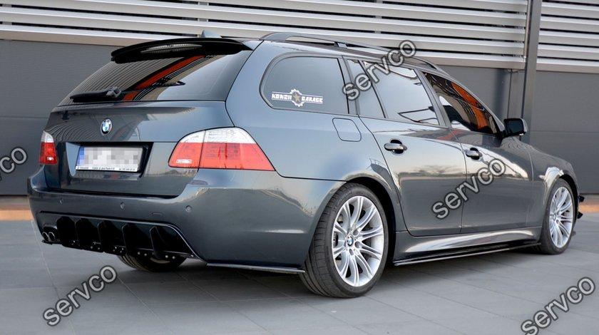 Prelungire tuning sport bara spate BMW Seria 5 E60 E61 M-Pachet 2003-2010 v2