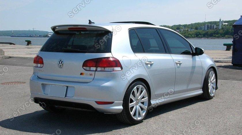 Prelungire tuning sport bara spate VW Golf 6 GTI Rline 2008-2013 ver2