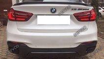 Prelungire tuning sport difuzor bara spate BMW X6 ...