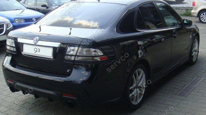 Prelungire tuning sport difuzor bara spate Saab 9 3 Aero 2007-2012 v1