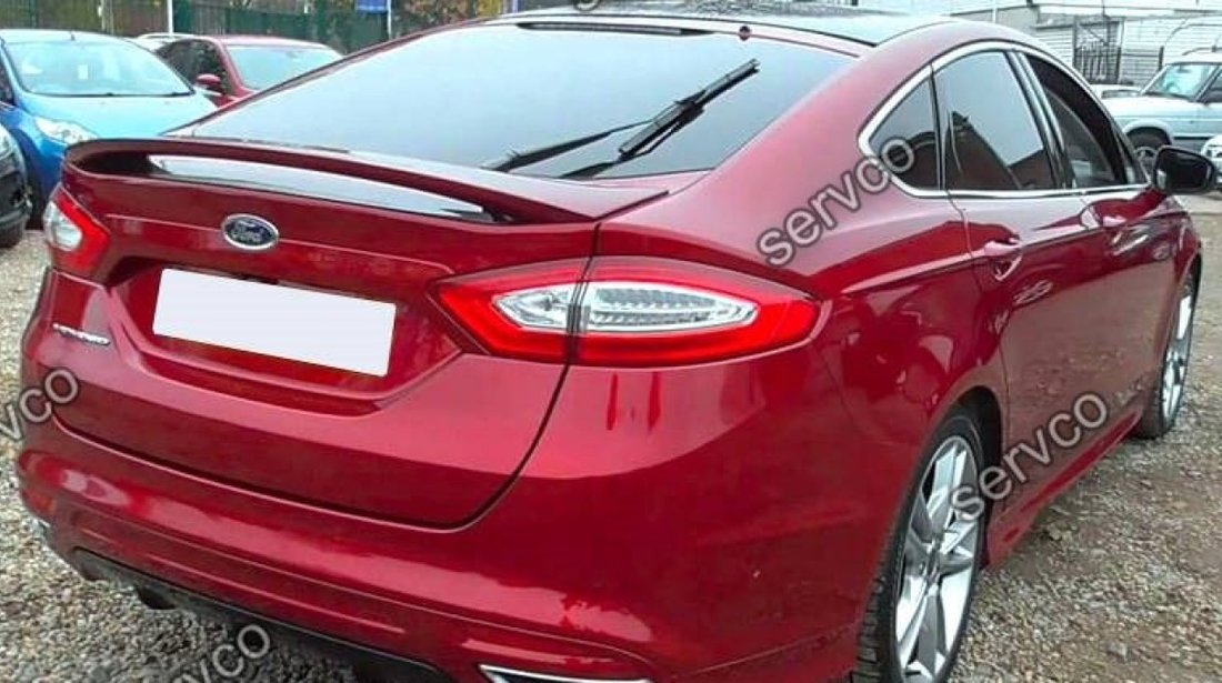 Prelungire tuning sport eleron portbagaj Ford Mondeo MK5 HB Hatchback 14-18 v3