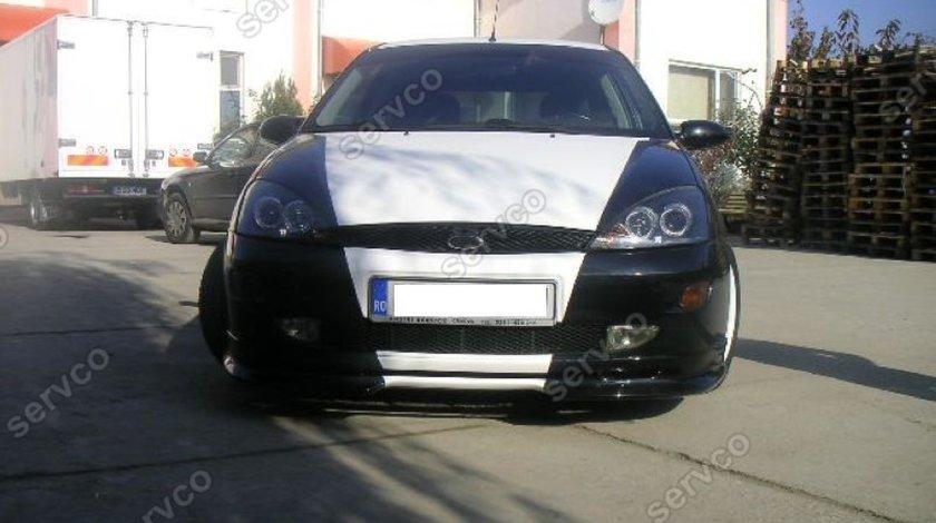 Prelungire tuning sport lip buza bara fata Ford Focus 1 MK1 1998-2001 v1
