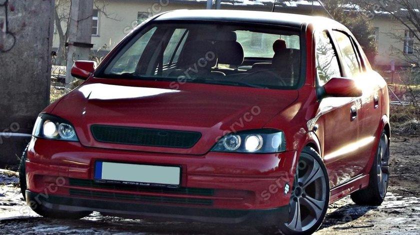 Prelungire tuning sport lip buza bara fata Opel Astra G Hatchback HB OPC Line 1998-2011 v3