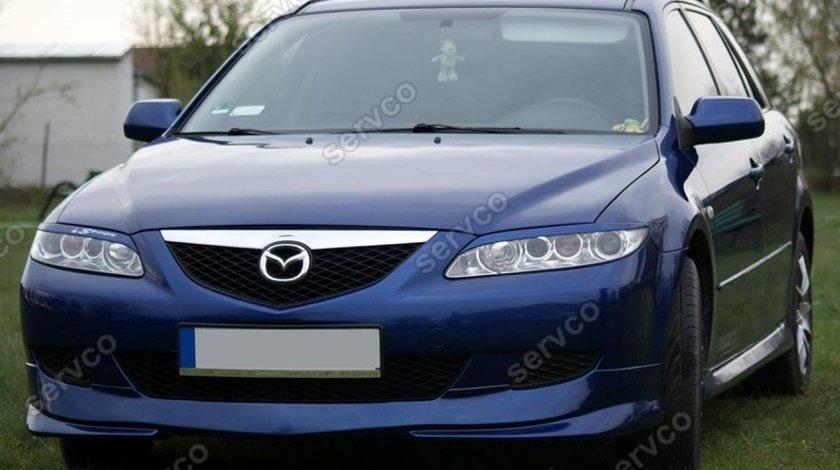 Prelungire tuning sport spoiler bara fata Mazda 6 MPS 2002-2005 v1