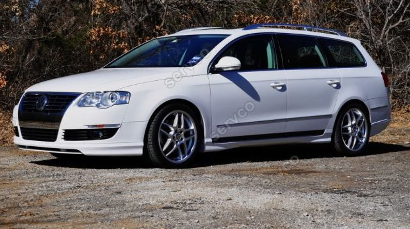 Prelungire Votex lip buza spoiler tuning sport bara fata Volkswagen Passat B6 3C 2005-2010 v2