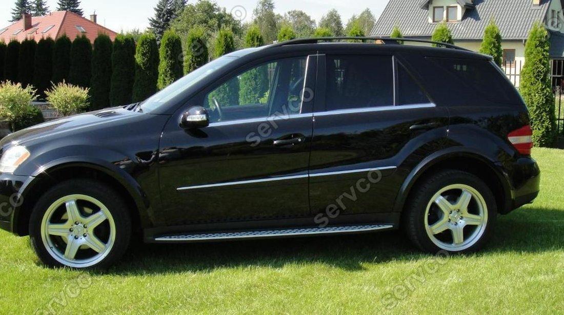 Prelungiri aripi  Mercedes ML Class W164 2005-2011 ver1