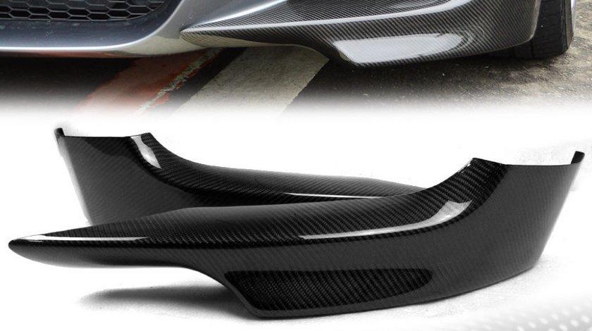 Prelungiri fibra carbon Stanga Dreapta Bara Fata Bmw E92 Seria 3 Coupe 2007 2011 Pre Facelift